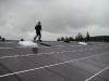 700 qm Modulfläche auf West/Ost - Dach