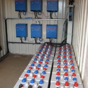Inselsystem 90kWp für eine Farm in UK/Newquay